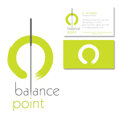 Balance Point Acupuncture Logo And Branding