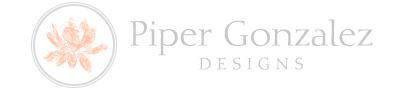 Piper Gonzalez Designs Logo And Website