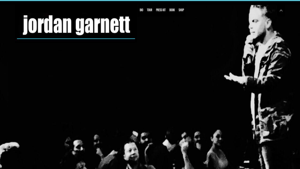 Comedian, Jordan Garnett Website