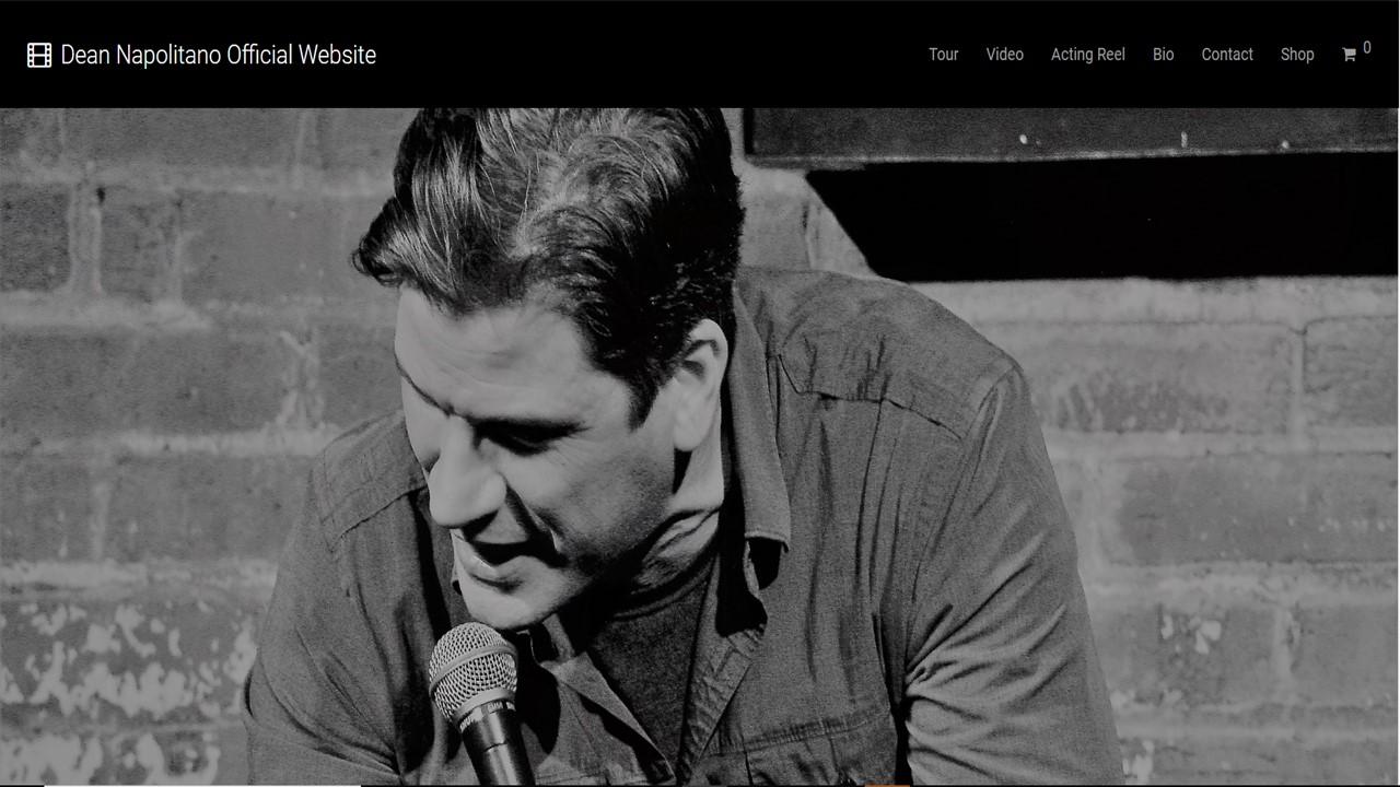 Comedian/Actor, Dean Napolitano Website