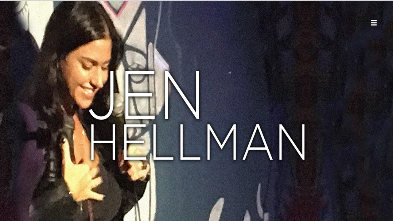 Comedian Jen Hellman